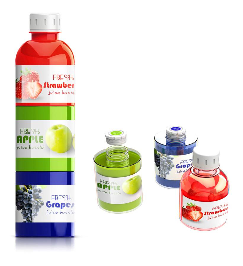 """《基于可持续发展理念的模块化包装瓶设计》""""模块化包装瓶""""斩获欧洲2019EPDA设计奖金奖-第3张"""